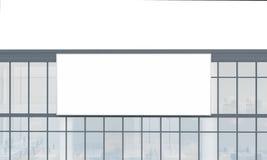 Fassadenwerbung Stockfotografie