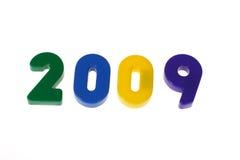 Fassen Sie 2009 von den Blöcken ab Stockfotos