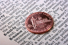 Fassen Sie die Finanzierung ab Lizenzfreies Stockbild