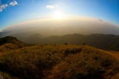Fassen Sie Welt ein, die runde Welt, Kurve, Landschaft Lizenzfreie Stockfotos