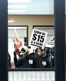 Fastów Food pracownicy Zdjęcia Stock