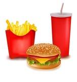 fastów food produkty Zdjęcie Royalty Free