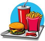 fastów food produkty Obraz Stock
