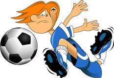 Fast ball. Soccer design element, white background vector-illustration Stock Photo