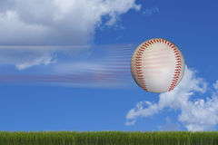 Fast Baseball. Royalty Free Stock Image