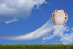 Fast Baseball. Royalty Free Stock Images