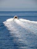 Fast boat (gliser) Royalty Free Stock Photo