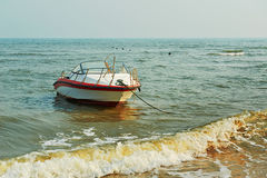The fast boat Royalty Free Stock Images