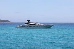 Fast boat in Saint Tropez bay