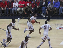 A Fast Break by Arizona Wildcat Jesse Perry Stock Photography