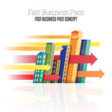 Fast Business Pace Stock Image