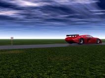 Fast Car 3 Stock Photo