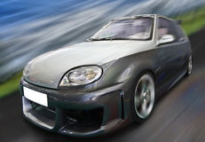 Fast car Royalty Free Stock Image
