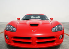 Fast car front view 2 Royalty Free Stock Photos