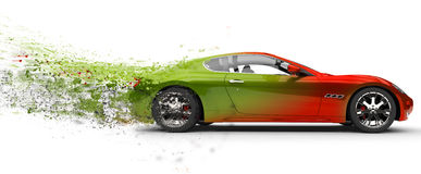 Fast car Royalty Free Stock Images