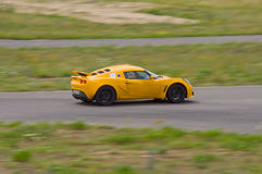Fast car in a race Stock Photography
