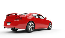 Fast Car Red Royalty Free Stock Images