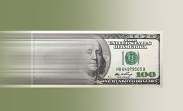 Fast cash express money Stock Photo