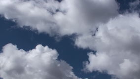 Fast Close Up Natural Clouds 30s stock video footage