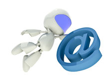 Fast communications concept Stock Photo