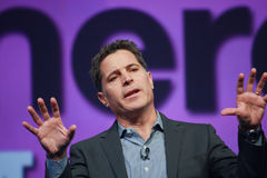 Fast Company editor Bill Taylor delivers address Royalty Free Stock Images