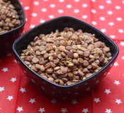 Fast cooking lentils Royalty Free Stock Image