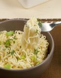 Fast cooking noodles Royalty Free Stock Photos