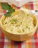 Fast cooking noodles Royalty Free Stock Image