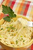 Fast cooking noodles Stock Photography