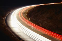 Fast curves Royalty Free Stock Images