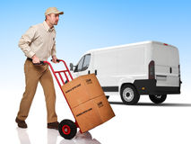 Fast delivery Royalty Free Stock Photo