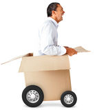 Fast delivery Royalty Free Stock Image