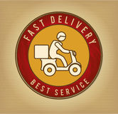 Fast delivery Royalty Free Stock Photos