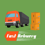 Fast delivery concept Royalty Free Stock Photography