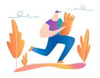 Fast delivery. food delivery design. flat illustration. stock illustration