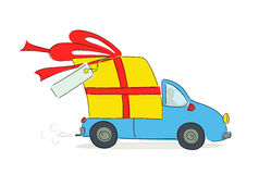 Fast Delivery Gift Stock Photos