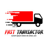 Fast Delivery Logo Royalty Free Stock Image
