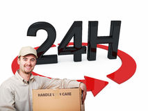 Fast delivery Stock Photography