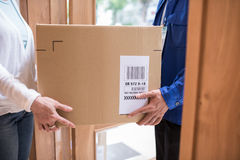 Fast delivery service Royalty Free Stock Photos