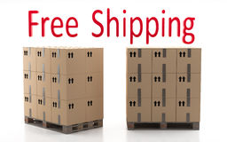Fast Delivery. Fast Shipping. Trade efficiency. Electronic commerce in the world today Stock Photo