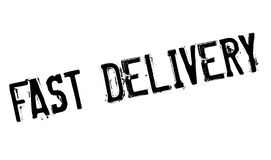 Fast delivery stamp Stock Photos