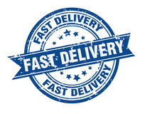 Fast delivery stamp Royalty Free Stock Photos