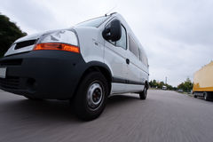 Fast Delivery Van stock photos