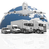 Fast delivery world wide Royalty Free Stock Photography