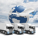 Fast delivery world wide Stock Images