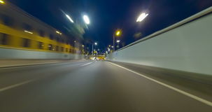 Fast driving for Barcelona.Time Lapse - 4K. Fast driving for Barcelona. urban tunnels and bypass roads. Time Lapse - vehicle shot - subjective view - 4K stock footage