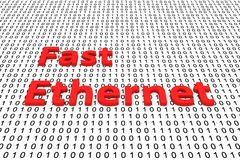 Fast ethernet Royalty Free Stock Images