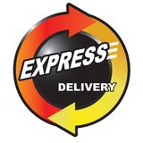 Fast express delivery Royalty Free Stock Photography
