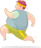 Fast Fat Burning Jog Royalty Free Stock Photos