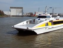Fast ferry Stock Image